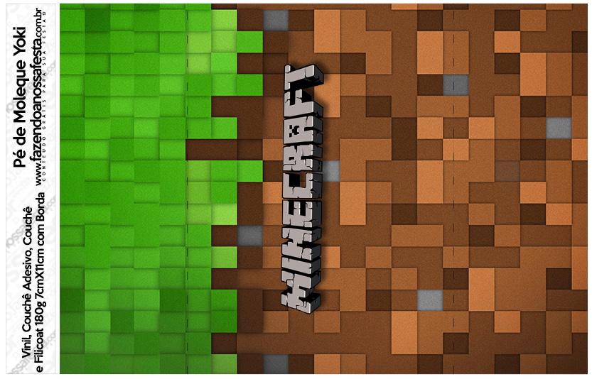 Pe de Moleque Yoki Minecraft