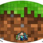 Placa Elipse Minecraft