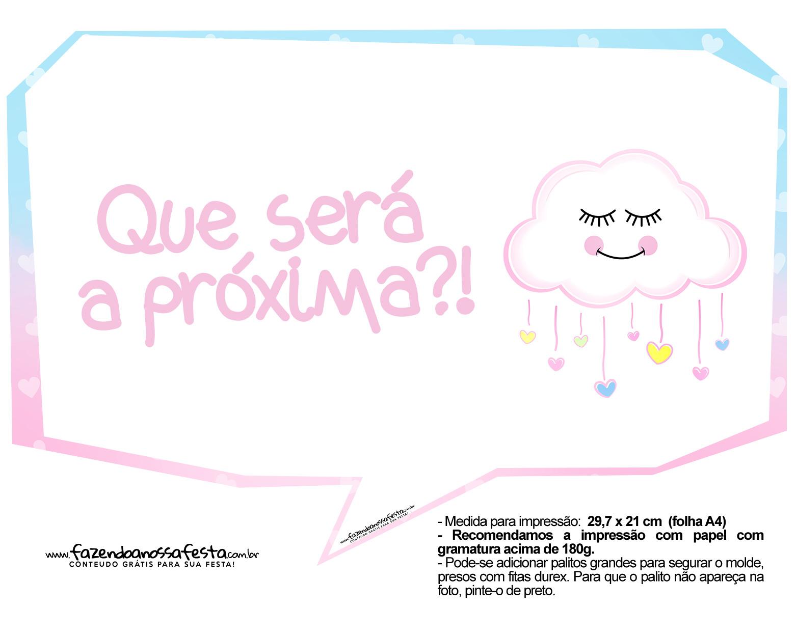 Plaquinhas Chuva de Amor 03