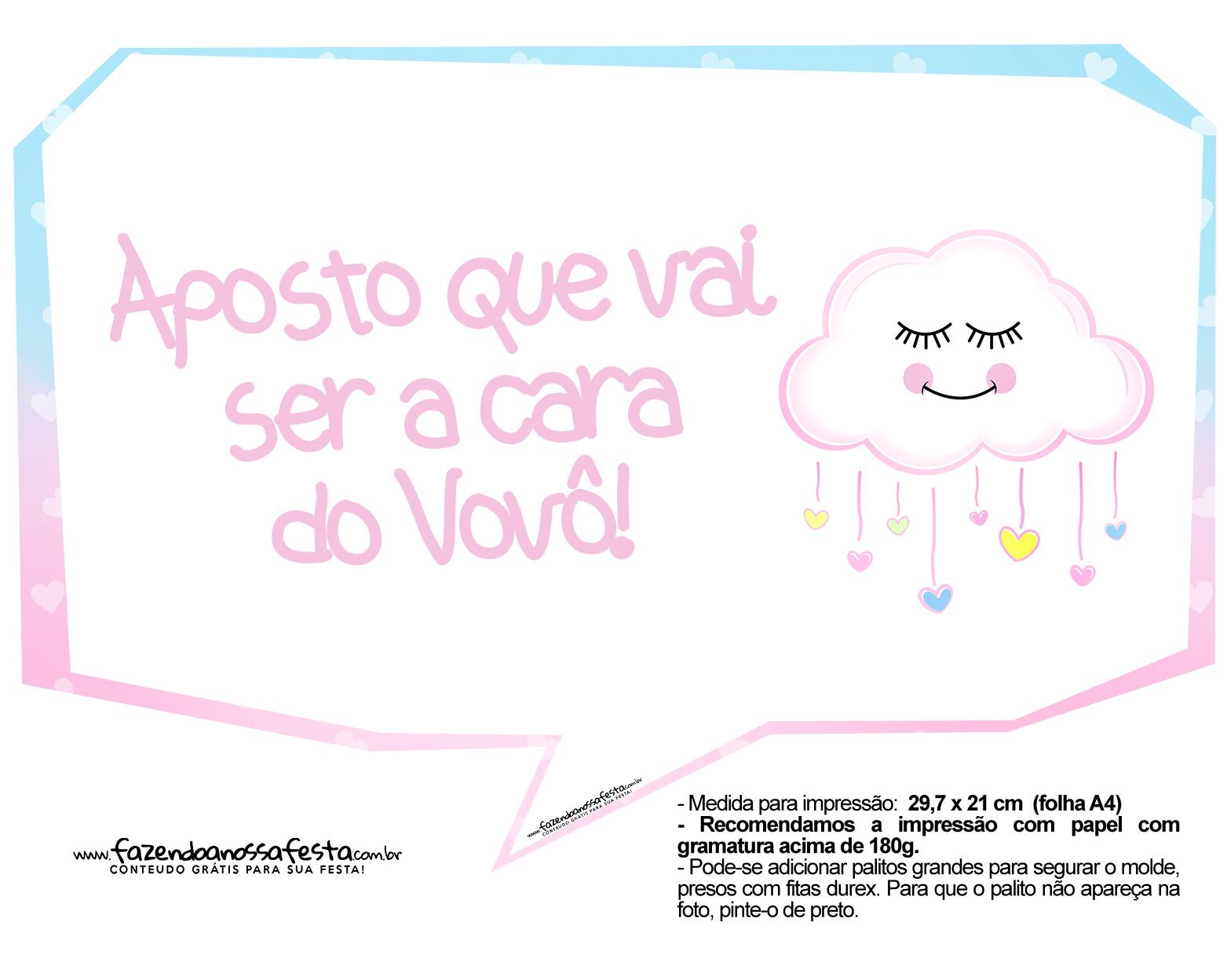Plaquinhas Chuva de Amor 05