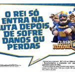 Plaquinhas divertidas Clash Royale 01