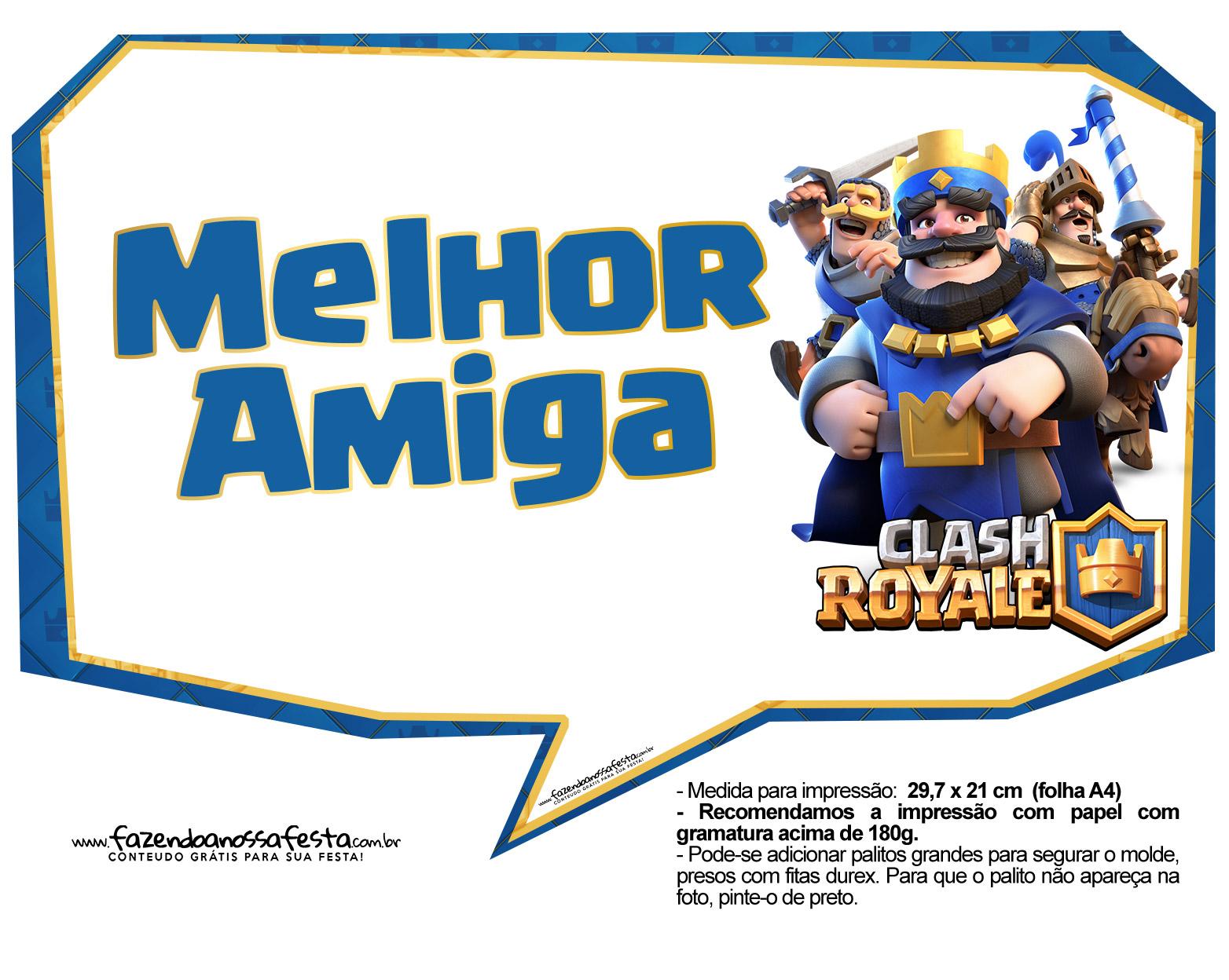 Plaquinhas Clash Royale 07