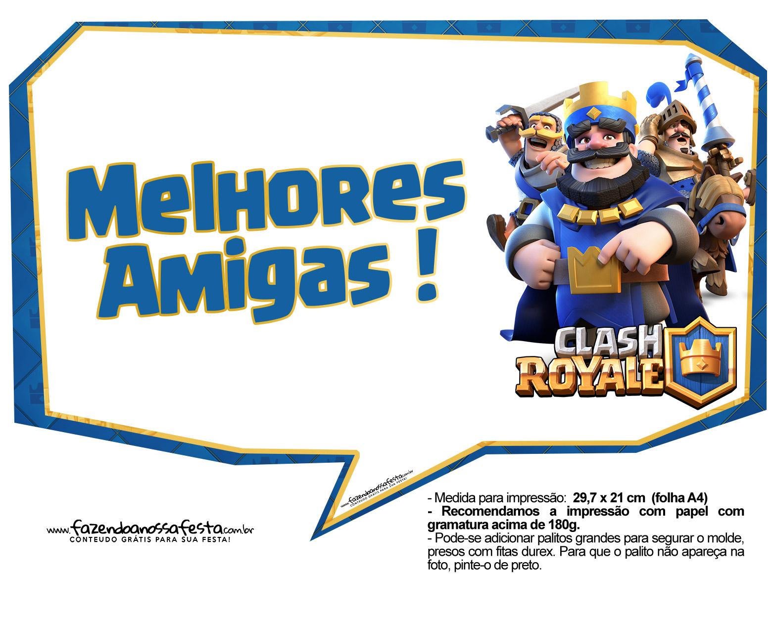 Plaquinhas Clash Royale 08