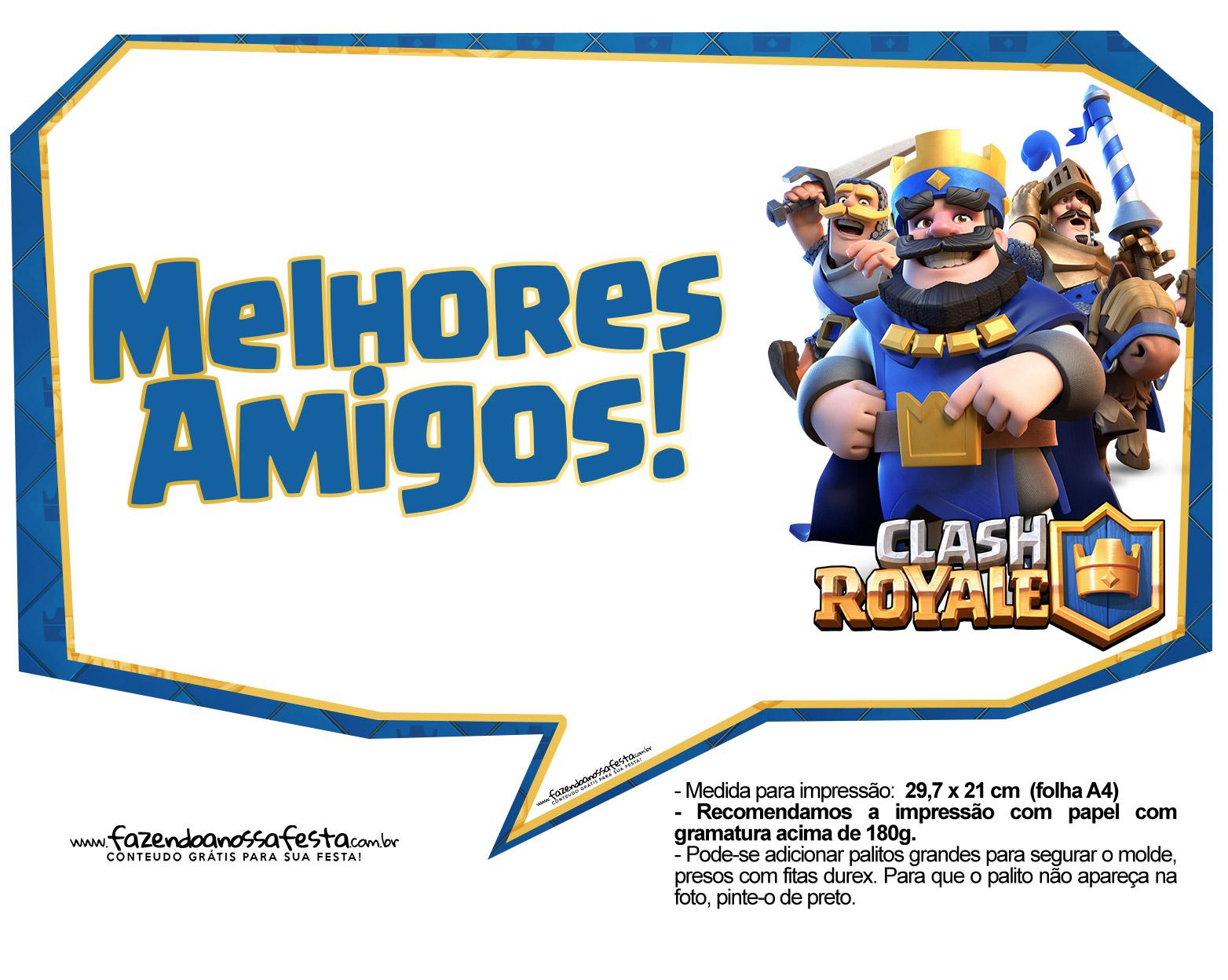 Plaquinhas Clash Royale 09
