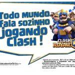 Plaquinhas divertidas Clash Royale 12