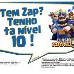 Plaquinhas divertidas Clash Royale 15