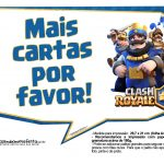 Plaquinhas divertidas Clash Royale 33
