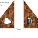 Porta Guardanapos Minecraft