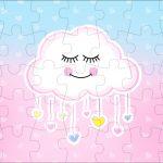 Quebra cabeca Chuva de Amor
