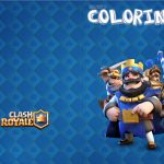 Revista Colorindo Clash Royale Kit Festa