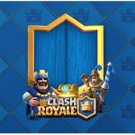 Rotulo Agua Clash Royale