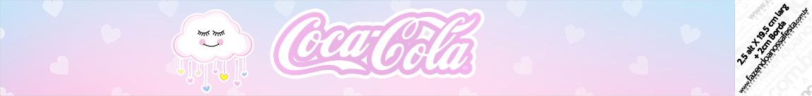 Rotulo Coca cola Chuva de Amor