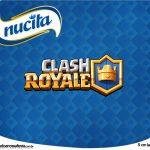 Rotulo Creminho Nucita Clash Royale