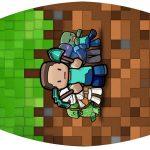 Rotulo Esmalte Minecraft