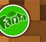 Rotulo Fanta Minecraft
