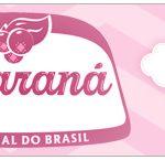 Rotulo Guarana Caçulinha Balão de Ar Quente Rosa