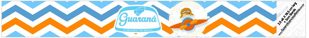 Rotulo Guarana Caculinha Menino Aviador
