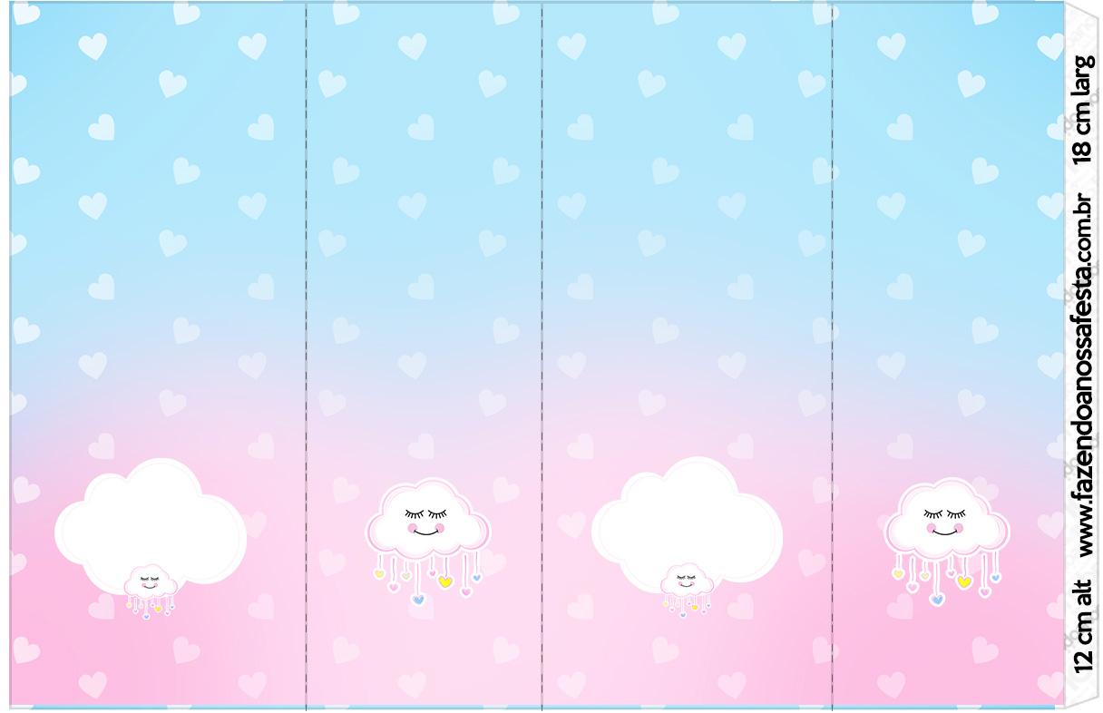 Rotulo Nescauzinho Chuva de Amor