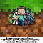 Rotulo Passatempo Minecraft