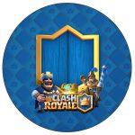 Rotulo Personalizado para latinha e toppers Clash Royale