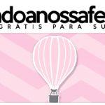 Rotulo Pote Papinha Nestle Balão de Ar Quente Rosa