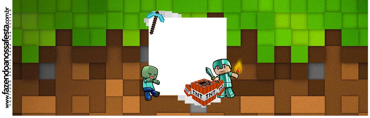 Rotulo para Squezze Minecraft