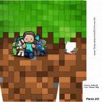 Sacolinha Surpresa 2 2 Minecraft Kit Festa