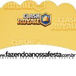 Saias Wrappers para Cupcakes 2 Clash Royale