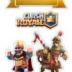 Topo de Bolo Clash Royale 2