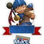Topo de Bolo Mike o Cavaleiro 1