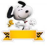 Topo de Bolo Snoopy 2