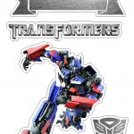 Topo de Bolo Transformers 2