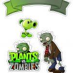 Topo de Bolo plants Vs Zombies