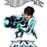 Topo de bolo Max Steel