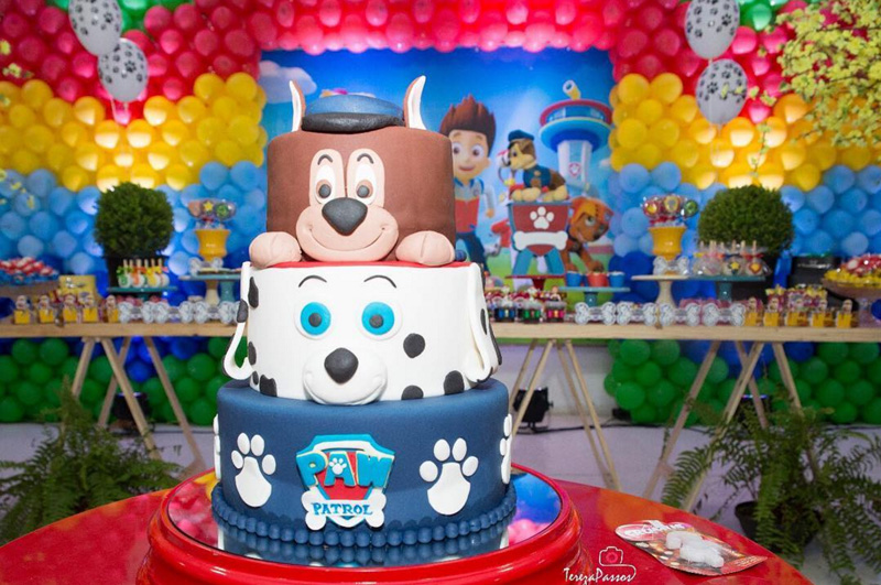 Créditos: @la_festiva Ideias para Festa Infantil Patrulha Canina