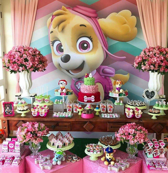 Créditos: @souvenir_festas Ideias para Festa Patrulha Canina