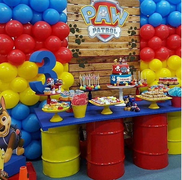 Créditos: @stylish_events_decorations Ideias para Festa Infantil Patrulha Canina