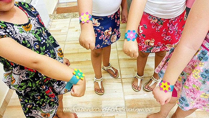 Amigas Festa Infantil Trolls da Marjorie