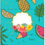 Bala Personalizada Flamingo Tropical