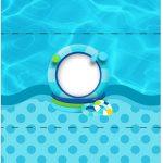 Bala Personalizada Pool Party Menino