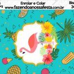 Bisnaga Brigadeiro 30gr Flamingo Tropical