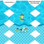 Caixa Bala Pool Party Menino
