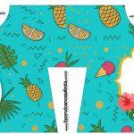 Caixa Camisa Flamingo Tropical