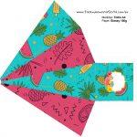 Caixa Piramide 2 Flamingo Tropical
