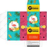 Caixa Remedio Flamingo Tropical