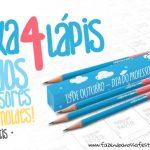 Caixa para 4 Lápis Dia dos Professores Grátis para Imprimir