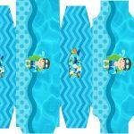 Caixa sabonete Pool Party Menino