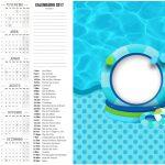 Calendario 2017 2 Pool Party Menino