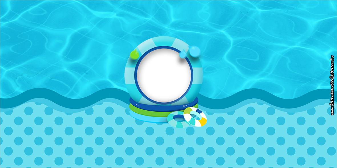 Cofrinho Pool Party Menino