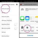 Como baixar convite animado pelo Iphone com Google Drive